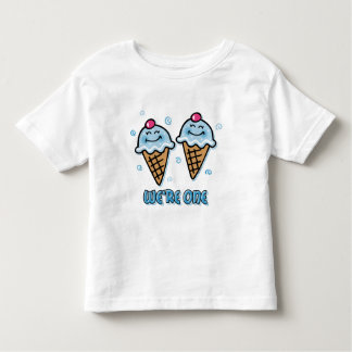 Ice Cream We're One Twin Boys Toddler T-shirt