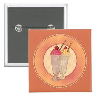 Ice Cream with Cherry Pin