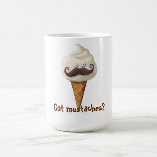 Ice Cream with Mustaches Coffee Mug