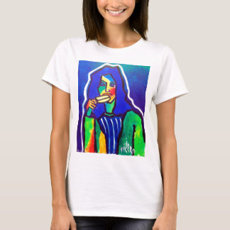 Ice Cream Woman by Piliero T-Shirt