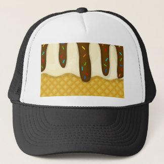 Ice cream zoom trucker hat