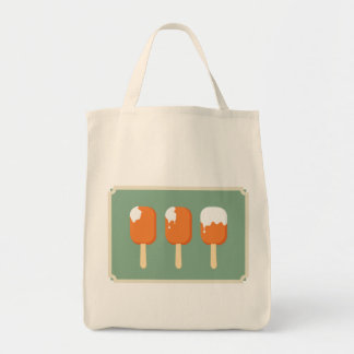 ice creams are melting canvas bags