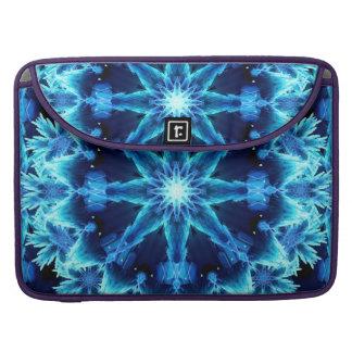Ice Crystal Light Mandala Sleeve For MacBook Pro