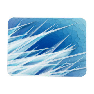 Ice Crystal Shards Magnet