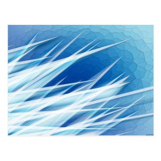 Ice Crystal Shards Postcard