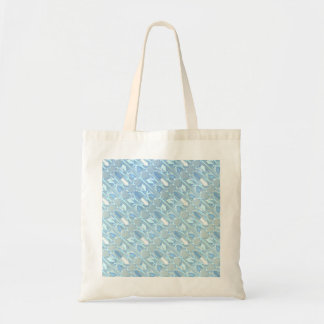 Ice Crystals Budget Tote Bag