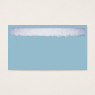 Ice Crystals Business Card
