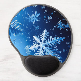 Ice Crystals Gel Mouse Pad