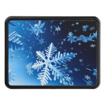 Ice Crystals Hitch Cover