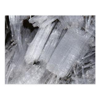 Ice Crystals Postcard