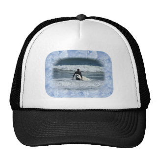 Ice Crystals template frame Trucker Hat