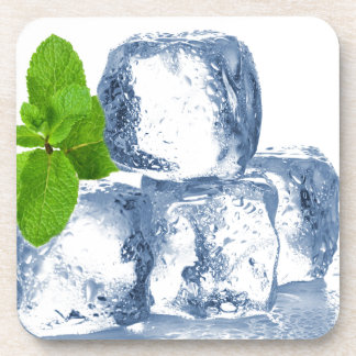 Ice cube cool yourself beverage coaster