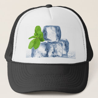 Ice cube cool yourself trucker hat