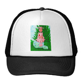 Ice Cube Cow Trucker Hat