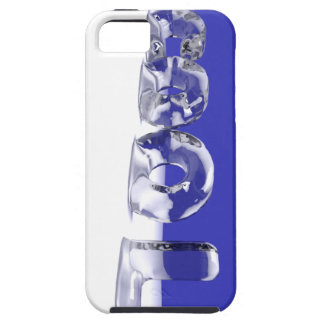 ICE CUBE TEXT iPhone SE/5/5s CASE