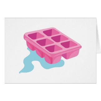 Ice Cube Tray Card