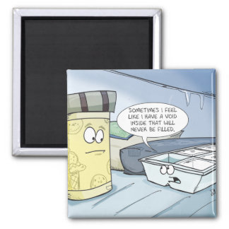 Ice Cube Tray Refrigerator Magnet