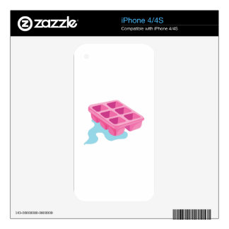 Ice Cube Tray iPhone 4 Skins