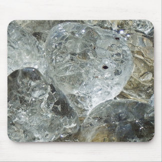 Ice Cubes Abstract Art Creative Photography Mouse Pad