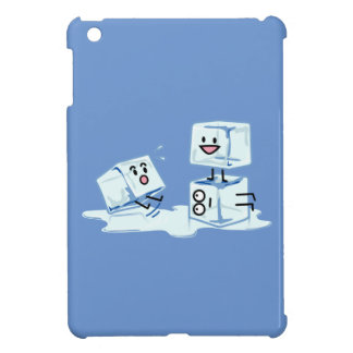 ice cubes icy cube water slipping stack melt cold iPad mini cases
