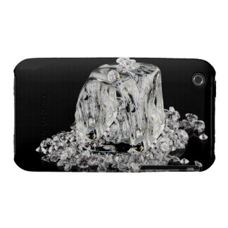Ice cubes melting into diamonds iPhone 3 cover