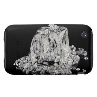 Ice cubes melting into diamonds iPhone 3 tough cases