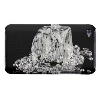 Ice cubes melting into diamonds iPod Case-Mate case
