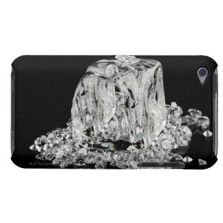 Ice cubes melting into diamonds iPod touch Case-Mate case