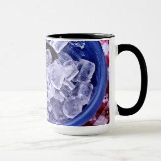Ice cubes mug