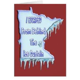 Ice Curtain Refugee Card