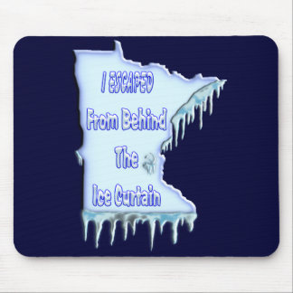 Ice Curtain Refugee Mouse Pad