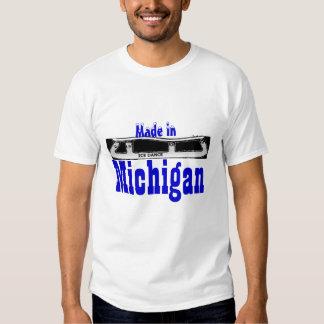 Ice Dance Made in Michigan T-shirt