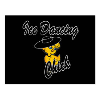 Ice Dancing Chick #4 Postcard