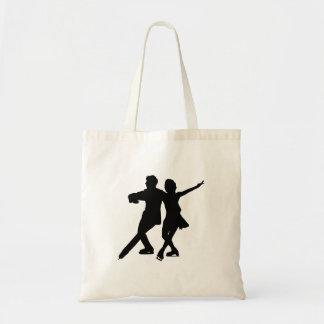 Ice Dancing Couple - Tote Bag