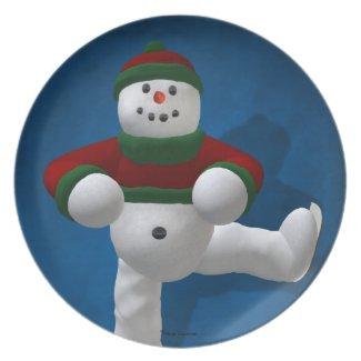 Ice Dancing Snowman
