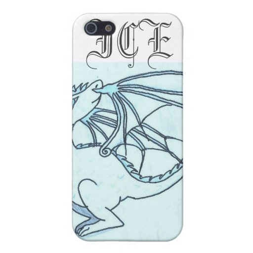 Ice dragon case for iPhone 5/5S