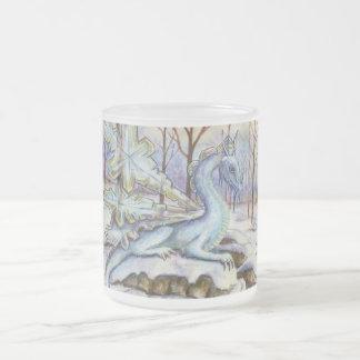Ice Dragon frosted mug