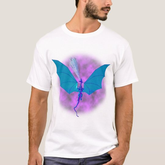 Ice Dragon In Flight T-Shirt