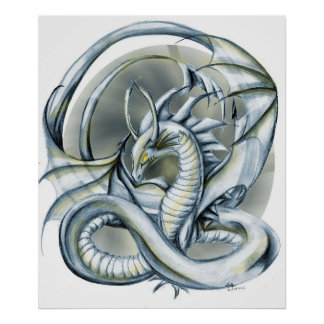 Ice Dragon Print