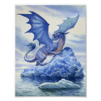 Ice Dragon Poster