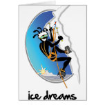 """""""Ice Dreams"""" Greeting Cards"""