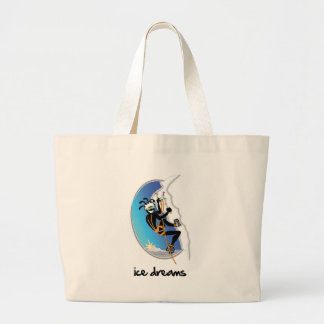 """Ice Dreams"" Jumbo Tote Bag"