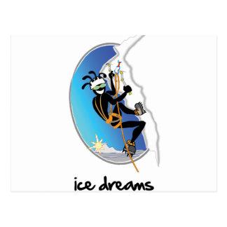 """Ice Dreams"" Postcard"