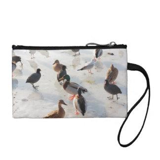 ice ducks coin wallet
