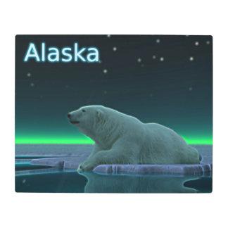 Ice Edge Polar Bear - Alaska Metal Print