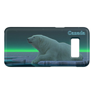 Ice Edge Polar Bear - Canada Case-Mate Samsung Galaxy S8 Case