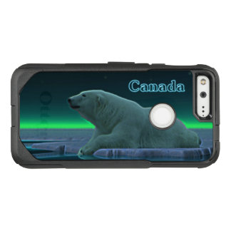 Ice Edge Polar Bear - Canada OtterBox Commuter Google Pixel Case
