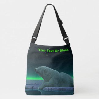 Ice Edge Polar Bear Crossbody Bag
