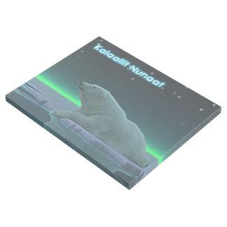 Ice Edge Polar Bear - Greenland Gallery Wrap