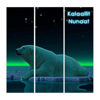 Ice Edge Polar Bear - Greenland Triptych